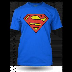 Tričko s logem Superman – modré