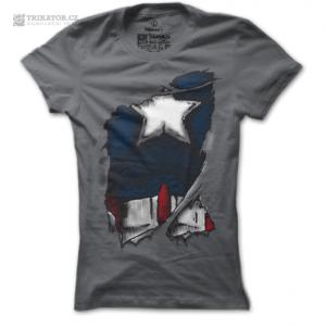 Dámské tričko Captain America