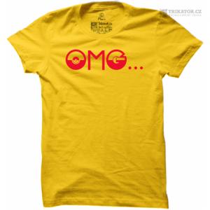 Tričko Pokemon OMG