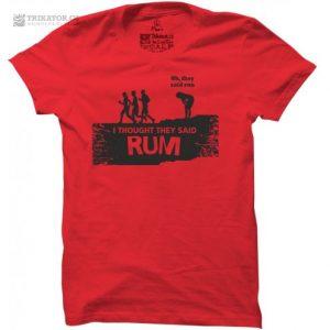 Tričko Rum