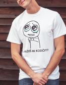 Tričko Ukážeš mi kozičky?