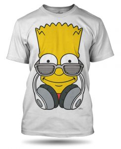 Tričko Bart a sluchátka