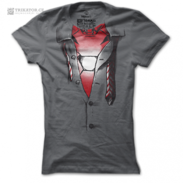 Dámske triško Iron Man inside