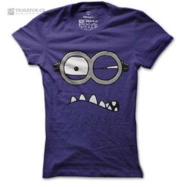 Dámské tričko Rozzlobený mimoň