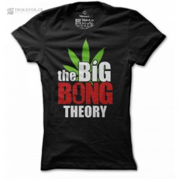 Tričko Big Bong Theory - Dámské