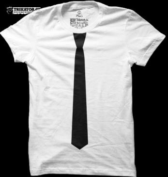 Tričko Black tie – Černá kravata
