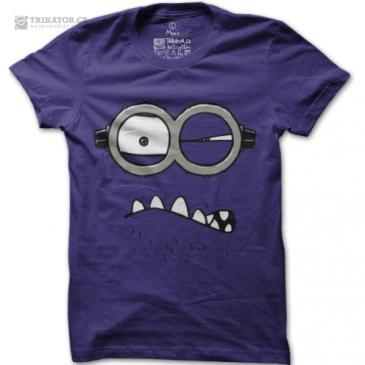 Pánské tričko Rozzlobený mimoň