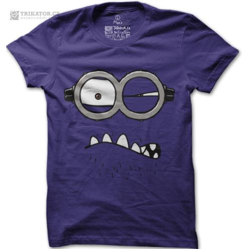 Tričko Rozzlobený mimoň
