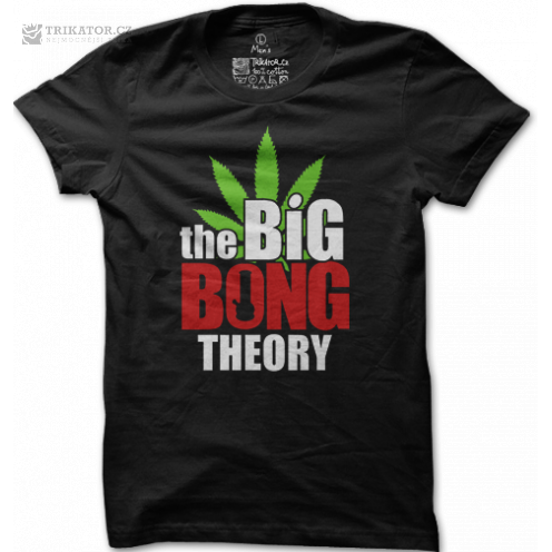 Tričko THE BIG BONG THEORY