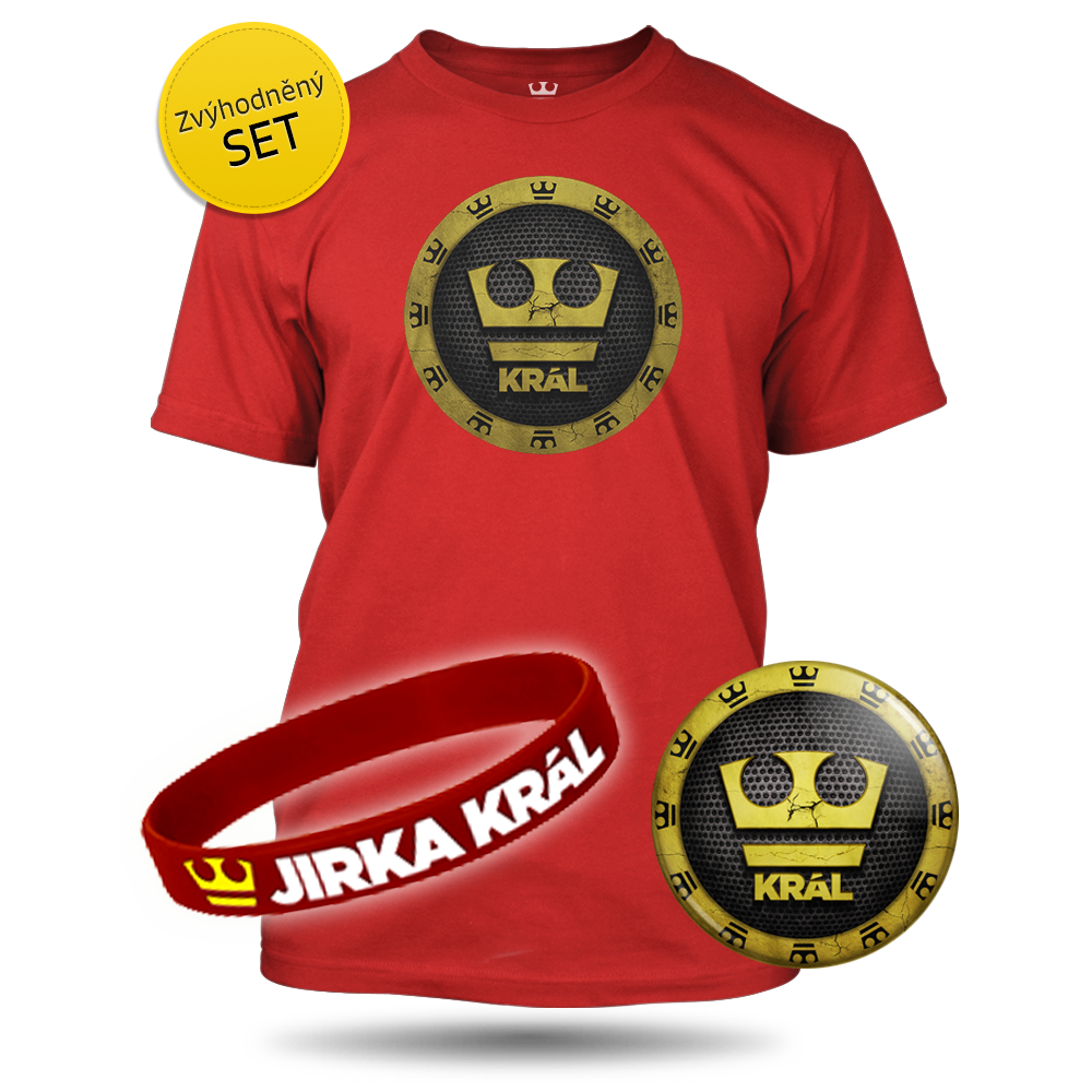Jirka Král – TRIČKO, PLACKA, NÁRAMEK