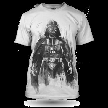 Bílé Tričko Darth Vader