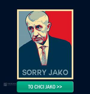 Tricko Sorry Jako